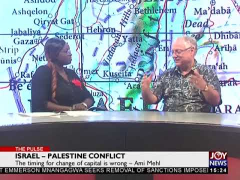 Israel - Palestine Conflict - The Pulse on JoyNews (15-12-17)