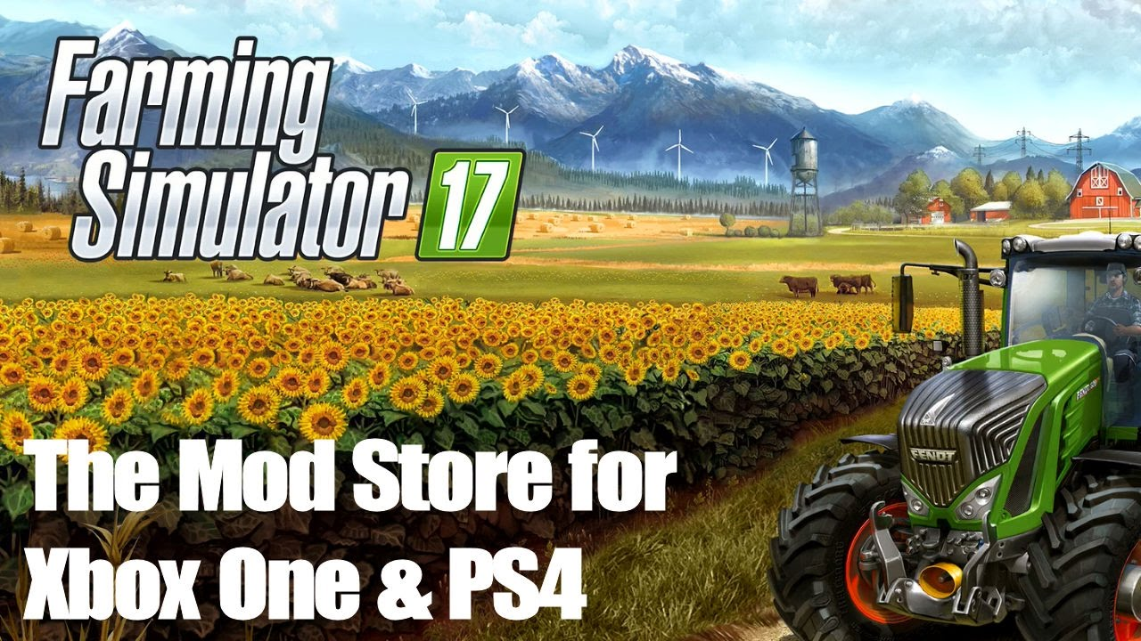 Taking a look at the Mod Store on Farming Simulator 17 for Xbox One/PS4!