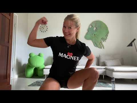 #Magnexercise with Anna