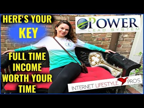 Make Money Online For Beginners - Power Lead System & Internet Lifestyle Pros = FULL TIME INCOME