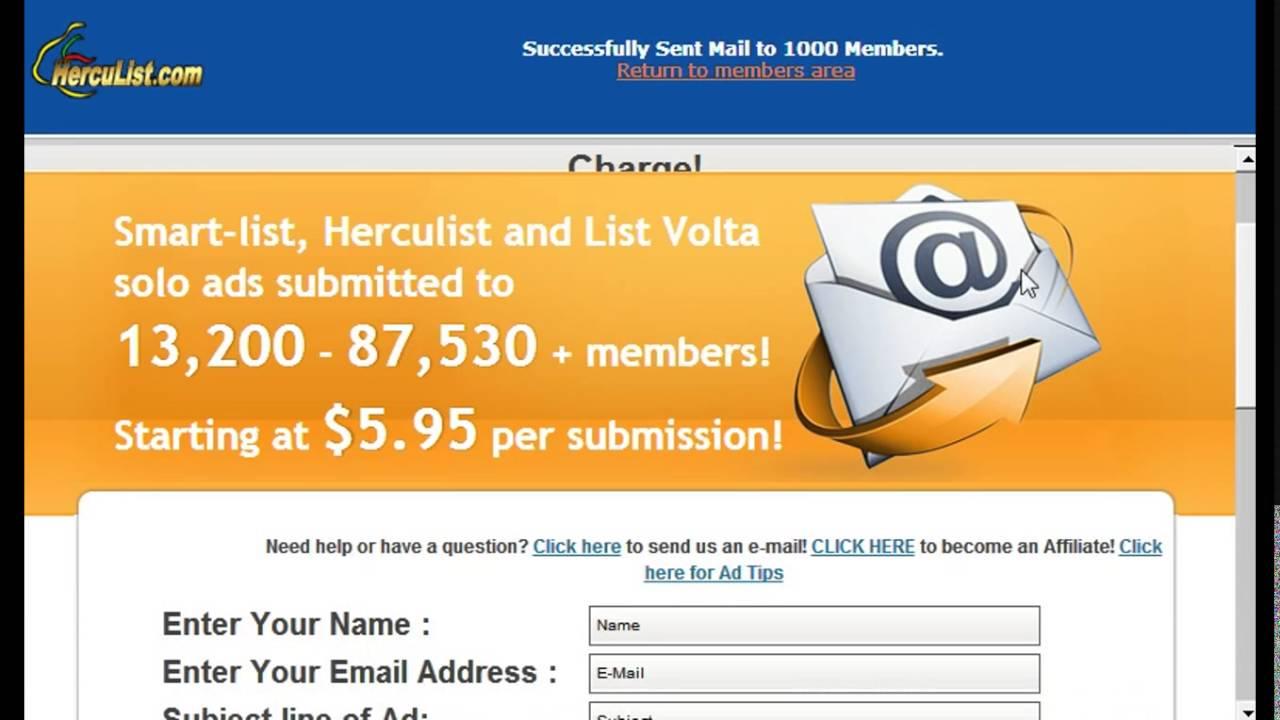 email blast free