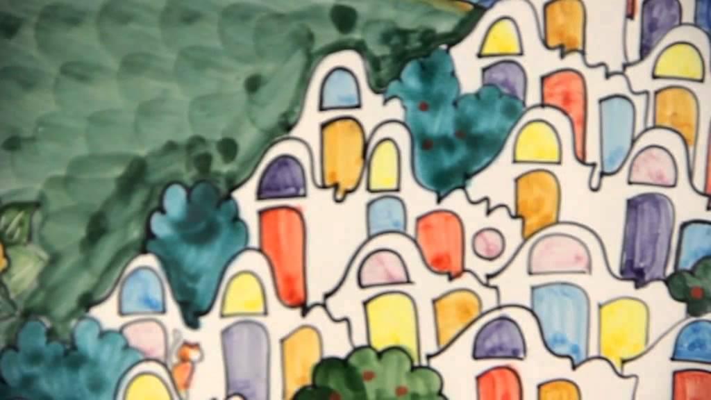 Daedalus ceramica di vietri a napoli in via l giordano for Piastrelle napoli
