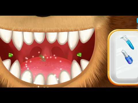 Маша и Медведь и Барбоскины Лечат Зубы Игры Для Детей
