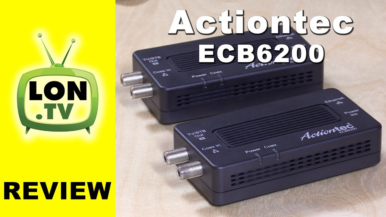 Actiontec Ecb6200k02 Bonded Moca 20 Review Extend A Network With Installation Guide Ethernet Over Coax Adapter Bridge Home Cable Tv Wires