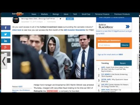 Regarding Martin Shkreli's Arrest & Answering Tons Of Questions