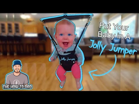 How To Put A Baby In A Jolly Jumper Youtube