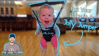 how to put a baby in a jolly jumper