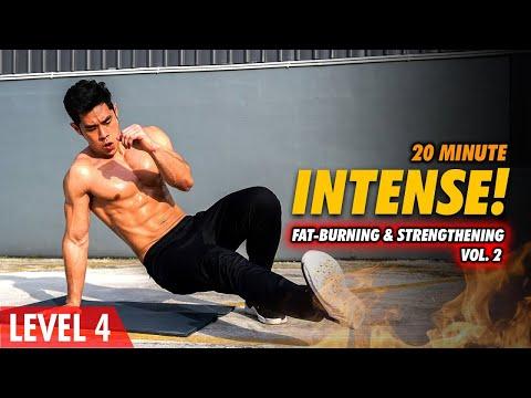 [Level 4] 20 Minute Fat-Burning & Strengthening Vol. 2