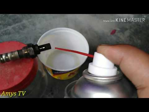 How to clean your o2 sensor