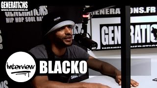 Blacko - Interview #Dualité (Live des studios de Generations)
