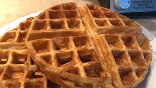 Craving Waffles ?????  This is not only WW friendly but also low in points thanks to Mudhustler!!