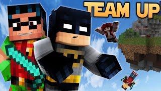 Minecraft BATMAN & ROBIN - Non-Violent Team-Up! (Minecraft Bed Wars Roleplay)