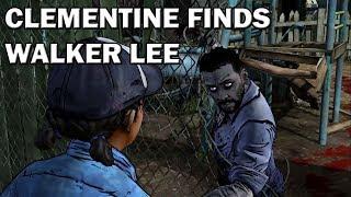 Walking Dead - Clementine finds Walker Lee [Model Swap]