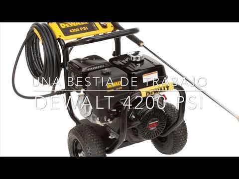 Hidrolavadora A Gasolina Dewalt 4200psi (Analisis 2019) thumbnail