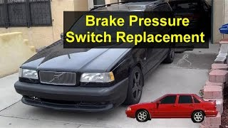 Brake Pressure Switch Sensor Replacement, Volvo S70, V70, 850, Etc. - VOTD