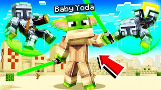 MINECRAFT MANHUNT as a JEDI MASTER! (force powers)