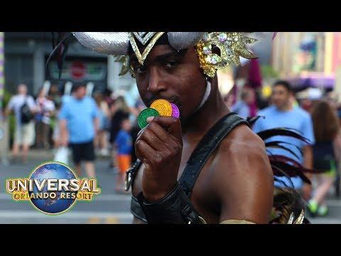 Mardi Gras 2018 Universal Studios Florida wrap-up Universal Studios Orlando, Florida