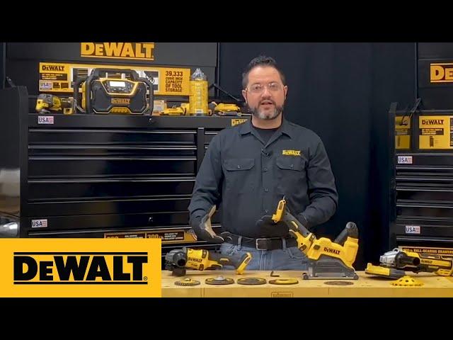 DEWALT® Product Guides - Grinder Basics