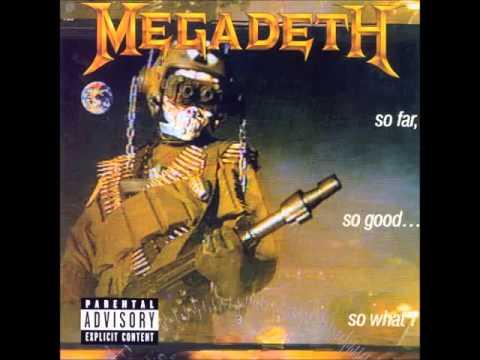 Megadeth So Far, So Good   So What!