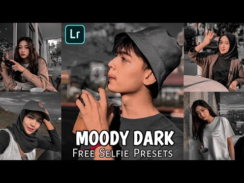 Tutorial Edit Foto Selfie Ala Selebgram | Moody dark Lightroom | Black Tone