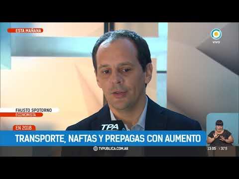 Aumentos en transportes y servicios   #TPANoticias