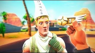 I helped a REAL DEFAULT get his FIRST WIN IN FORTNITE! :)