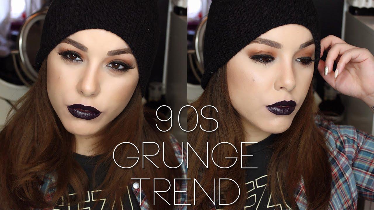 90s Grunge Makeup - Mugeek Vidalondon