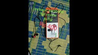 MI BASIC EARPHONE FULL REVIEW தமிழ்