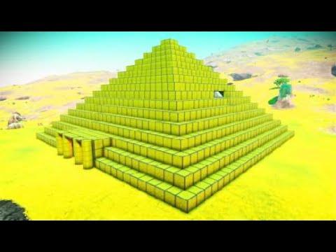 No Man's Sky - Final resting place of an ancient race? PredatorHunter0's alien pyramid