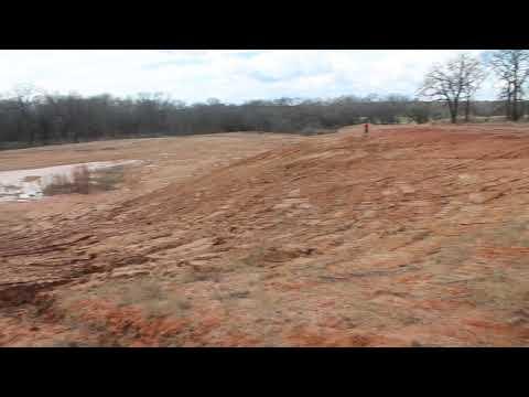 Mining Hole C (Reclamation: Item 11, #3). Jason Coalson Excavation. Hamilton Texas.