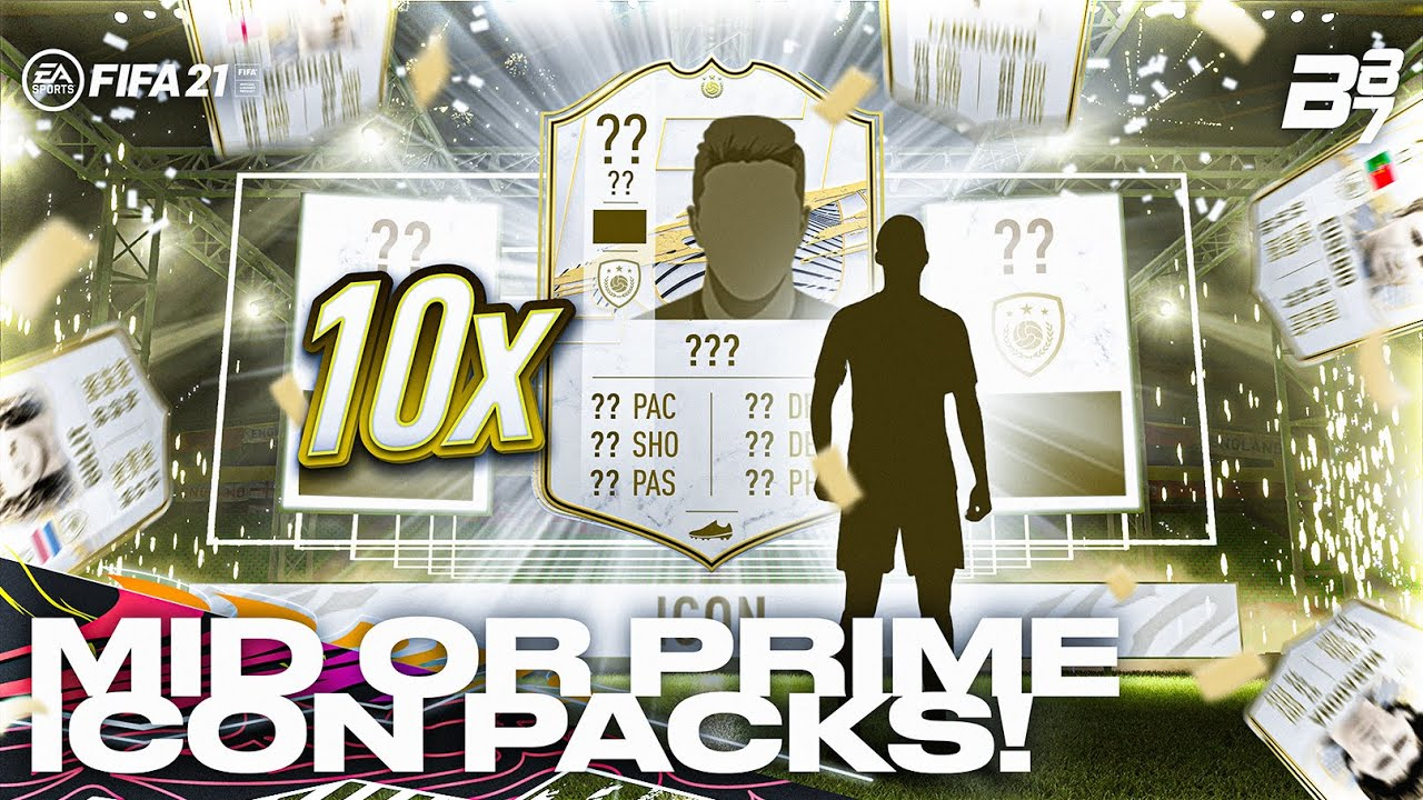 Download 10 X MID OR PRIME ICON PACKS! | FIFA 21 ULTIMATE TEAM