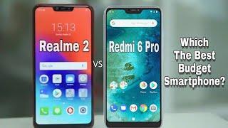 Realme 2 vs Redmi 6 pro Which one should you buy in 2018? Full Comparison??