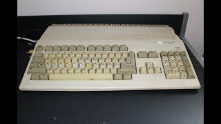Amiga 500 ze stodoły...