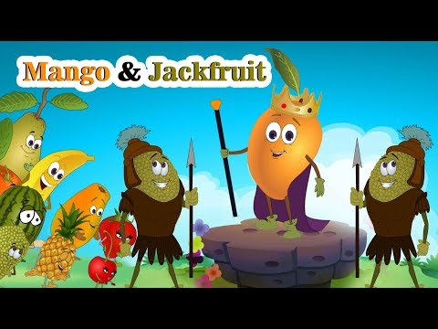 Mango & Jack Fruit | Fruit Rhymes | Fun & Learn By Jingle Toons