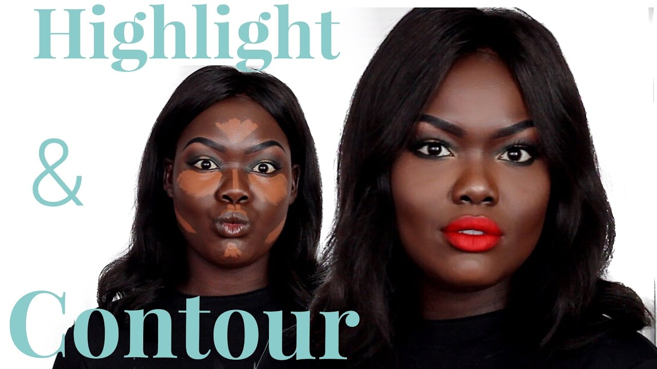 Download How To: Highlight and Contour Tutorial  2016 for Dark Skin || For Beginners