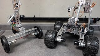 Servo City NOMAD Robot suspension, pan & tilt and tow hook