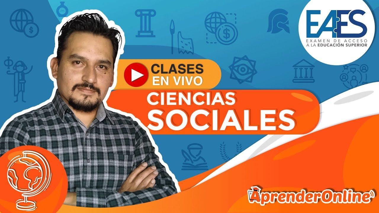 Examen de ingreso a la U - Resolviendo ejercicios | Ciencias Sociales | 🔴 Live T1 #05