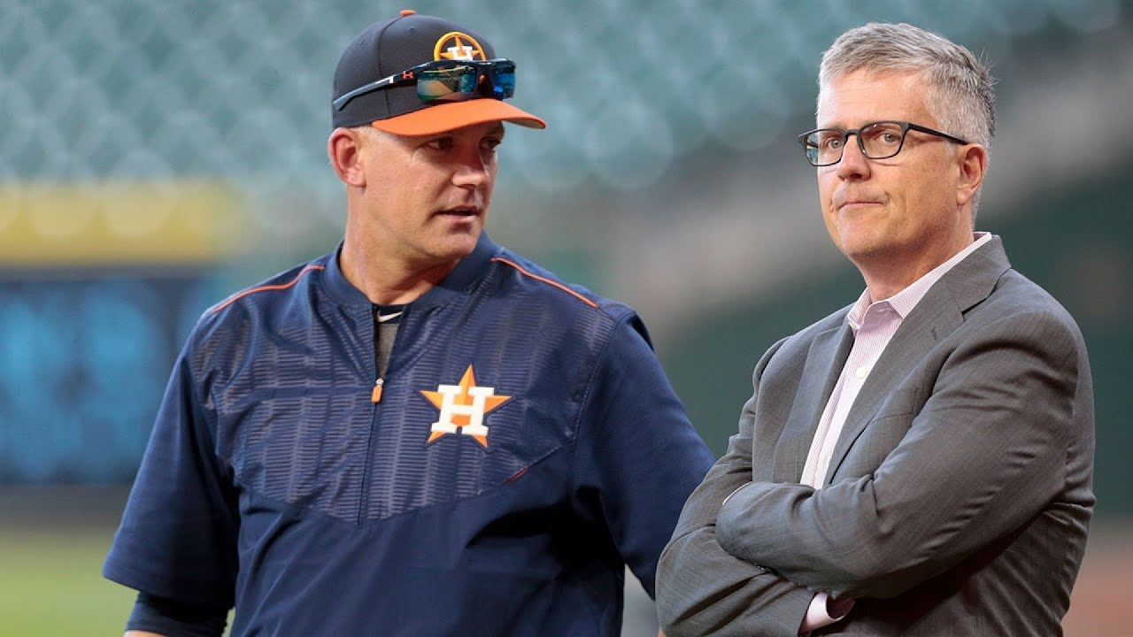 Astros' Luhnow, Hinch fired after MLB gives ban