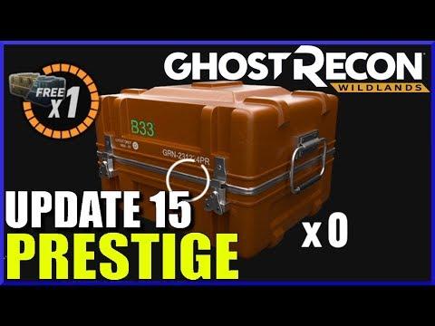 Ghost Recon Wildlands UPDATE 15 - Prestige Points!