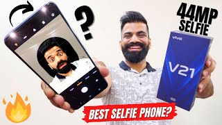 vivo V21 5G Unboxing & First Look   World's First 44MP OIS Selfie Smartphone🔥🔥🔥
