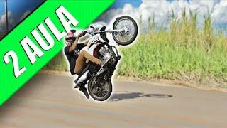 Como empinar sua moto parte 2?
