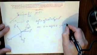 Второй закон Ньютона и наклонная плоскость