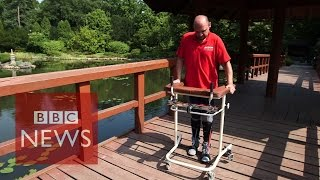 Paralysed man walks after cell surgery - BBC News