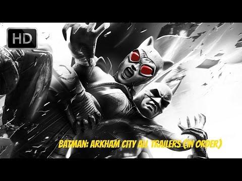 Batman: Arkham City - All Trailers (In Order)