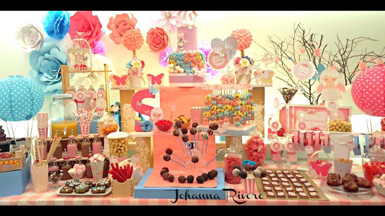 Como hacer mesa dulce o de postres candy bar paso a paso for Decoracion para mesa dulce