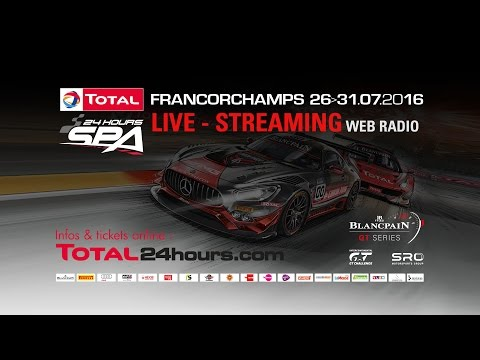 Total 24 Hours of Spa - WEB RADIO