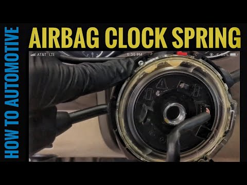 How to Replace the Clockspring on a 2005-2011 Mercedes ML350 W164