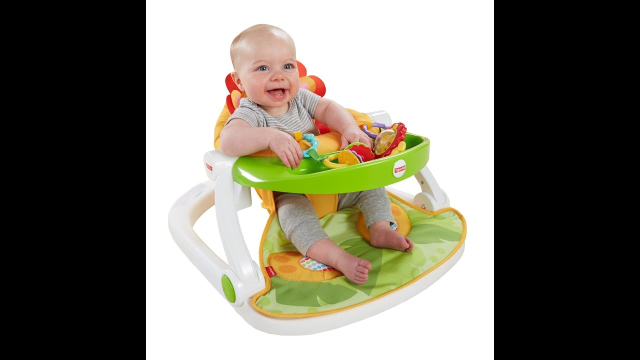 Review Fisher Price Sit Me Up Floor Seat with Tray