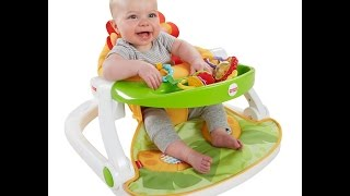 Review: Fisher-Price Sit-Me-Up Floor Seat with Tray