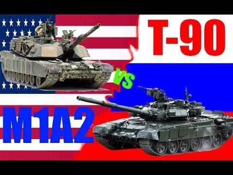 M1A2 vs T-90